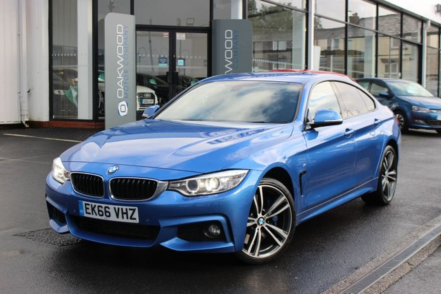 USED 2016 66 BMW 4 SERIES 3.0 435d M Sport Gran Coupe Sport Auto xDrive (s/s) 5dr