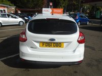 USED 2012 61 FORD FOCUS 1.6 ZETEC 5d 124 BHP GUARANTEED TO BEAT ANY 'WE BUY ANY CAR' VALUATION ON YOUR PART EXCHANGE