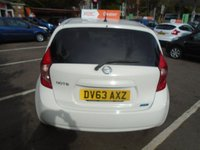 USED 2013 63 NISSAN NOTE 1.2 ACENTA PREMIUM SAFETY 5d 80 BHP GUARANTEED TO BEAT ANY 'WE BUY ANY CAR' VALUATION ON YOUR PART EXCHANGE