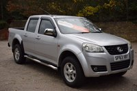 2013 GREAT WALL STEED 2.0 TD S 4X4 DCB 4d 141 BHP £5950.00