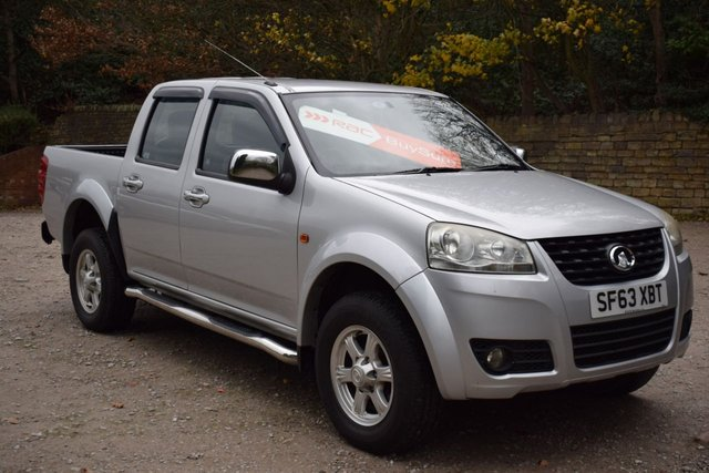 USED 2013 63 GREAT WALL STEED 2.0 TD S 4X4 DCB 4d 141 BHP