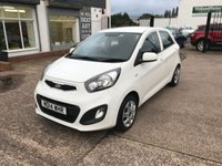 USED 2014 14 KIA PICANTO 1.0 1 5d 68 BHP ZERO £££ ROAD TAX-1.0 PETROL-1 FORMER KEEPER-5 DOOR-CD PLAYER-12 MONTHS MOT