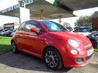 2014 FIAT 500 1.2 S 3d 69 BHP  SOLD
