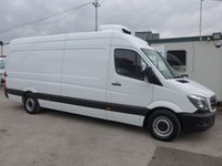 USED 2016 16 MERCEDES-BENZ SPRINTER 313 CDI LWB HI ROOF CHILLER, 130 BHP [EURO 5]