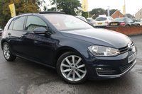 USED 2015 65 VOLKSWAGEN GOLF 1.4 GT TSI ACT BLUEMOTION TECHNOLOGY DSG 5d AUTO 148 BHP 6 SERVICE STAMPS - JUST 2 OWNERS - AMAZING SPEC - MUST BE SEEN