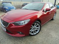 USED 2013 MAZDA 6 2.2 D SPORT 4d 173 BHP Excellent Condition, High Spec, No Deposit Necessary, No Final Payment Finance, Part Ex Welcomed