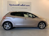 USED 2012 12 PEUGEOT 208 1.4 ALLURE 5d 95 BHP First Of The New Shape Peugeot 208 1.4 VTi Allure 5 Door In  Lovely Rose Quartz Metallic With Contrasting Anthracite Cloth Upholstery, Only Just Over 60,000 Miles Massive Spec With Alloys, Sat Nav, Climate Bluetooth, DAB Radio, Cruise And Privacy Glass, A Very Modern Car That's A Pleasure To Look At And Drive, Economical Too
