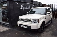 USED 2010 10 LAND ROVER DISCOVERY 4 3.0 4 TDV6 GS 5d AUTO 245 BHP LOVELY CONDITION IN BEST COLOUR COMBO - 7 STAMPS TO 65K - FULL LEATHER SEATS - PRIVACY GLASS - 22 INCH ALLOY WHEELS - TOWBAR