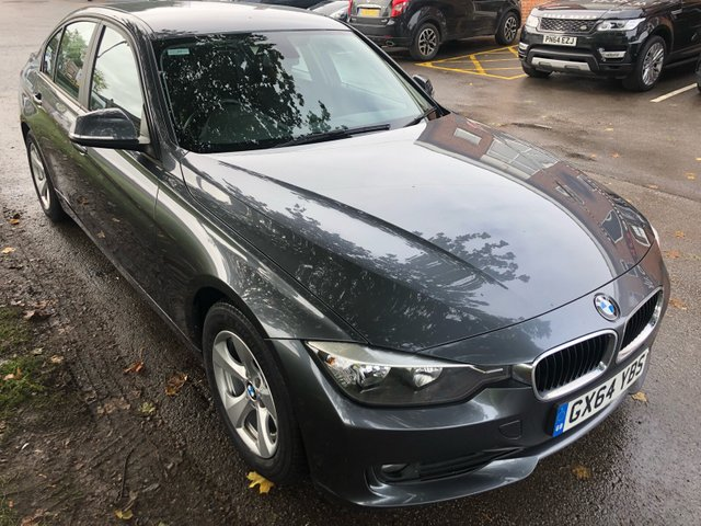 USED 2014 64 BMW 3 SERIES 2.0 320D EFFICIENTDYNAMICS 4d 161 BHP BMW 3 SERIES 320D . ONLY 1 OWNER FROM NEW !!!!! . ONLY £20 A YEAR ROAD TAX !!!!!    OVER 80  MPG !!!!  ECONOMICAL MOTORING AT ITS VERY BEST . VERY CLEAN THROUGHOUT AND DRIVES SUPERB , ALLOY WHEELS ETC....