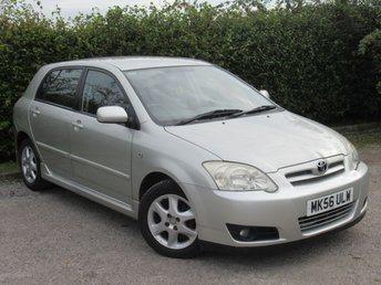 2006 TOYOTA COROLLA 1.4 T3 COLOUR COLLECTION VVT-I 5d  £2250.00