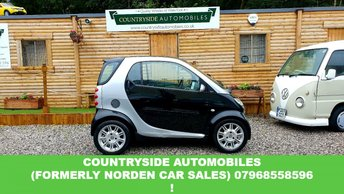 2003 SMART CITY COUPE 0.7 PASSION SOFTOUCH 2d 61 BHP £1795.00