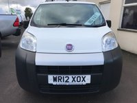 USED 2012 12 FIAT FIORINO 1.3 JTD MULTIJET 75PS **NO VAT**