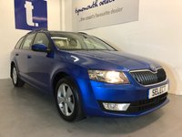 USED 2016 66 SKODA OCTAVIA 2.0 SE L TDI 5d 148 BHP Stunning Skoda Octavia Estate 2.0 TDi SE-L In The Best Colour Race Blue Pearl Effect 64,000 Miles With a Full Skoda History, !/2 Leather Upholstery, Sat Nav, Bluetooth, DAB Radio, Park Sensors Front And Rear, Climate Control, Unrivalled Space On Offer With 150 BHP And £20 road Tax Too, A Real Lot Of Motor Car For The Money