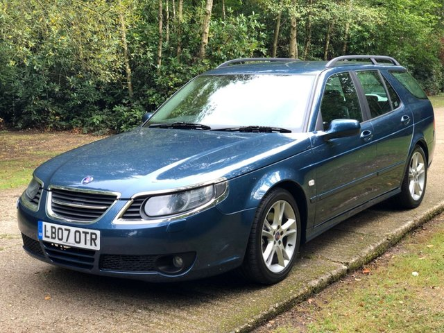 USED 2007 07 SAAB 9-5 2.3 AERO 5d AUTO 260 BHP RARE AUTOMATIC LOW MILEAGE, MANY EXTRAS.FINANCE ME TODAY-UK DELIVERY POSSIBLE