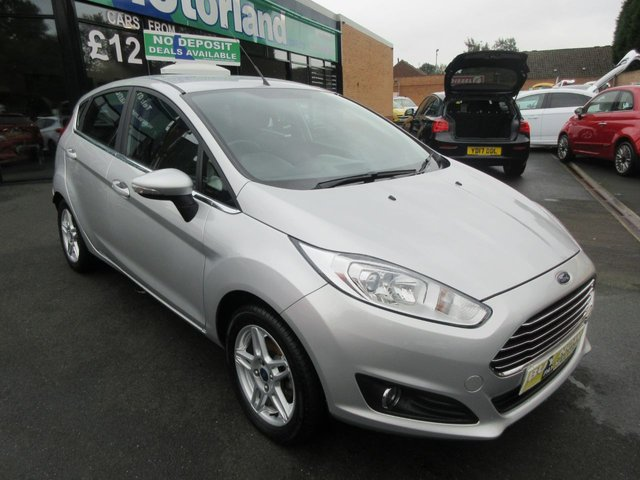 USED 2013 63 FORD FIESTA 1.2 ZETEC 5d 81 BHP **BUY NOW PAY NEXT YEAR**