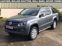 USED 2015 65 VOLKSWAGEN AMAROK 2.0 DC TDI HIGHLINE 4MOTION 178 BHP LEATHER, ROLLER SHUTTER