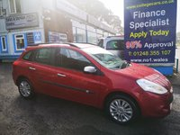 USED 2010 10 RENAULT CLIO 1.5 I-MUSIC DCI 5d 86 BHP, only 81000 miles ***APPROVED DEALER FOR CAR FINANCE247 AND ZUTO ***