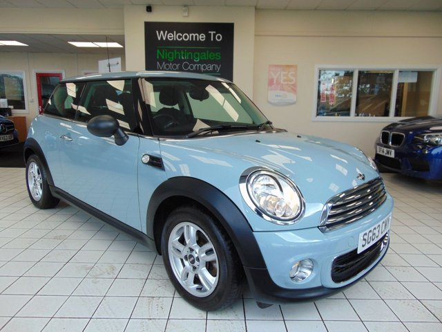 USED 2013 63 MINI HATCH ONE 1.6 ONE 3d AUTO 98 BHP AUGUST 2020 MOT + SERVICE HISTORY + BLUETOOTH + CLIMATE CONTROL + ELECTRIC WINDOWS + ALLOYS WHEEL + DAB RADIO + CENTRAL LOCKING + POWER STEERING