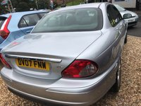 USED 2007 07 JAGUAR X-TYPE 2.0 S D 4d 130 BHP LUXURY INTERIOR: