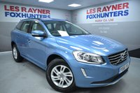 USED 2016 66 VOLVO XC60 2.0 D4 SE NAV 5d 188 BHP Sat Nav, Bluetooth, Cheap Tax, Cruise control, Leather