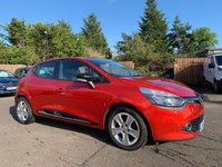 USED 2015 65 RENAULT CLIO 1.1 DYNAMIQUE NAV 16V 5d 73 BHP WITH FULL SERVICE HISTORY NO DEPOSIT ECP/HP FINANCE ARRANGED, APPLY HERE NOW