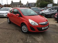 USED 2012 12 VAUXHALL CORSA 1.2 S 3d AUTO 83 BHP 1 LADY OWNER LOW MILEAGE AUTOMATIC  WITH  FULL VAUXHALL DEALER SERVICE HISTORY UP TO 18,130 MLS WOW