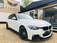 USED 2018 18 BMW 3 SERIES 2.0 320D XDRIVE M SPORT SHADOW EDITION TOURING 5d 188 BHP