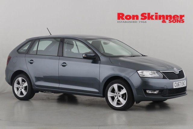 View our 2017 67 SKODA RAPID 1.0 SPACEBACK SE TECH TSI 5d 94 BHP