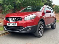 USED 2012 12 NISSAN QASHQAI 1.5 N-TEC PLUS DCI 5d 110 BHP 2 OWNERS, FULL SERVICE HISTORY 8  SERVICES NEW CAMBELT, 1YR MOT, EXCELLENT CONDITION,  NAV, CLIMATE CRUISE, PAN ROOF, BLUETOOTH, RADIO CD, E/WINDOWS, R/LOCKING, FREE WARRANTY, FINANCE AVAILABLE, HPI CLEAR, PART EXCHANGE WELCOME,