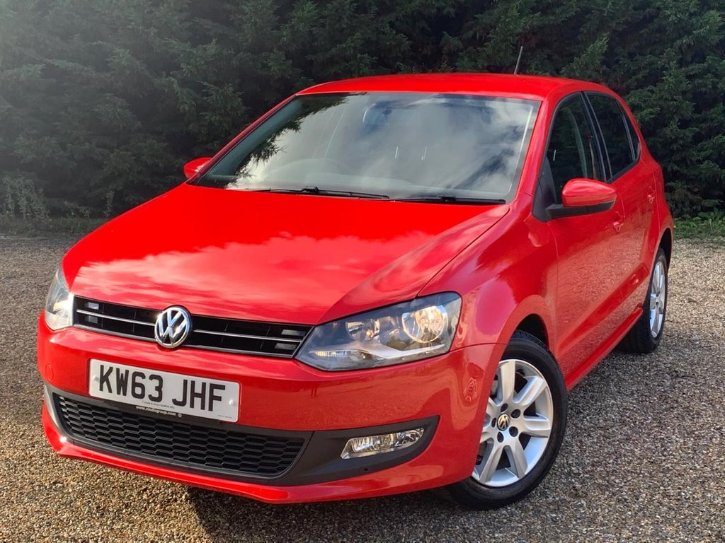 USED 2014 63 VOLKSWAGEN POLO 1.2L MATCH EDITION 5d 59 BHP
