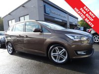 USED 2015 15 FORD GRAND C-MAX 1.5 TITANIUM X TDCI 5d 118 BHP EXCELLENT SPEC 7 SEATER WITH FULL FORD SERVICE HISTORY (6 SERVICES)