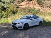 USED 2015 65 BMW 2 SERIES 2.0 218D M SPORT 2d 148 BHP TOP SEC  harman/kardon /Xenon