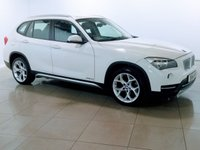 USED 2014 14 BMW X1 2.0 XDRIVE18D XLINE 5d 141 BHP LEATHER | DAB |