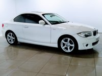 USED 2012 12 BMW 1 SERIES 2.0 118D EXCLUSIVE EDITION 2d AUTO 141 BHP LEATHER | SUNROOF | DAB |