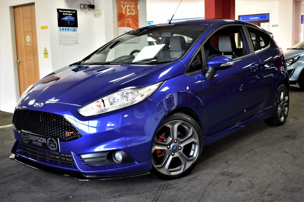 USED 2015 15 FORD FIESTA 1.6 ST-2 3d 180 BHP