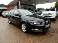 USED 2014 64 VOLKSWAGEN PASSAT 1.6 S TDI BLUEMOTION TECHNOLOGY 5d 104 BHP GOOD HISTORY,AIR CON,TWO KEYS,AUX PORT AND MEDIA INPUT