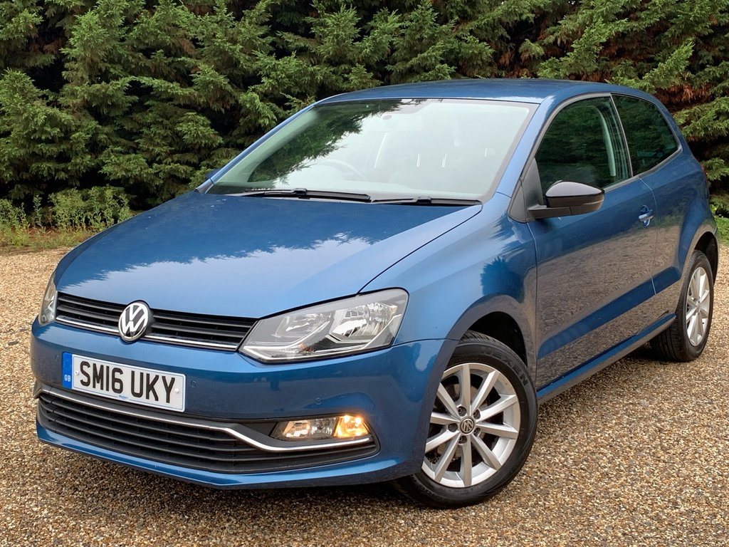 USED 2016 16 VOLKSWAGEN POLO 1.0L MATCH 3d 60 BHP