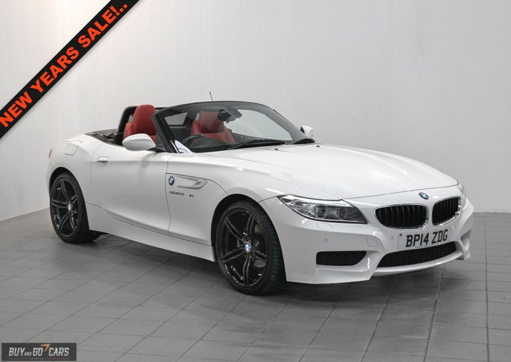 USED 2014 14 BMW Z4 2.0 Z4 SDRIVE20I M SPORT ROADSTER 2d AUTO 181 BHP BUY NOW, PAY 2 MONTHS LATER