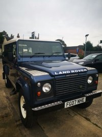 2007 LAND ROVER DEFENDER 2.4 110 COUNTY DCB HARD TOP 2d 122 BHP £11995.00
