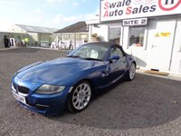 2006 BMW Z4 2.5 SI SPORT ROADSTER 2 DOOR 215 BHP £4495.00