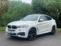 USED 2015 BMW X6 3.0 XDRIVE30D M SPORT 4d AUTO 255 BHP FULL SPEC,ONE OWNER,SUNROOF,M SPORT, BEAUTIFUL 2 TONE LEATHER READY TO GO!!!