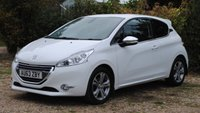 USED 2013 63 PEUGEOT 208 1.2 ALLURE 3d 82 BHP www.suffolkcarcentre.co.uk - Located at Ilketshall