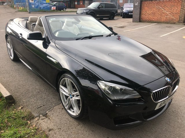 USED 2013 13 BMW 6 SERIES 3.0 640D M SPORT 2d AUTO 309 BHP CONVERTIBLE
