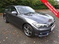 USED 2015 65 BMW 1 SERIES 1.5 116D SPORT 3d 114 BHP