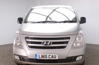USED 2015 15 HYUNDAI I800 2.5 STYLE CRDI 5DR 8 SEATS FULL SERVICE HISTORY + HEATED LEATHER SEATS + 8 SEATS + PARKING SENSOR + MULTI FUNCTION WHEEL + AIR CONDITIONING + RADIO/CD/AUX/USB + PRIVACY GLASS + ELECTRIC WINDOWS + ELECTRIC MIRRORS + 16 INCH ALLOY WHEELS