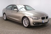 USED 2016 16 BMW 3 SERIES 2.0 320I XDRIVE SE 4DR SAT NAV 1 OWNER 181 BHP FULL BMW SERVICE HISTORY + SATELLITE NAVIGATION + PARKING SENSOR + BLUETOOTH + CRUISE CONTROL + CLIMATE CONTROL + MULTI FUNCTION WHEEL + DAB RADIO + ELECTRIC WINDOWS + RADIO/CD/AUX/USB + ELECTRIC MIRRORS + 17 INCH ALLOY WHEELS