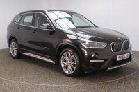 USED 2016 16 BMW X1 2.0 SDRIVE18D XLINE 5DR 148 BHP FULL BMW SERVICE HISTORY + £20 12 MONTHS ROAD TAX + SATELLITE NAVIGATION + PARKING SENSOR + BLUETOOTH + CLIMATE CONTROL + MULTI FUNCTION WHEEL + DAB RADIO + ELECTRIC WINDOWS + ELECTRIC MIRRORS + 18 INCH ALLOY WHEELS