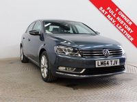 USED 2014 64 VOLKSWAGEN PASSAT 2.0 EXECUTIVE TDI BLUEMOTION TECHNOLOGY 4d 139 BHP Stunning VW Passat 2.0 Exective Bluemotion Technology having had just 1 Previous Owner, comes with Full Service History and in Premium Pearlescent Island Grey. In addition this car comes in the best specification including SAT NAV, Full Leather, Heated Seats, Parking Sensors, Cruise Control, Leather Multi-Functional Steering Wheel, Auto Headlights, Bluetooth, Air Con, Alloy, DAB, 2 Keys and comes with a Free warranty. Nationwide Delivery Available. Finance Available at 9.9% APR Representative.
