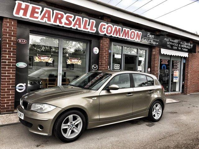 USED 2005 55 BMW 1 SERIES 1.6 116I ES 5d 114 BHP