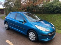USED 2009 09 PEUGEOT 207 1.4 S 5d 95 BHP **NEW MOT**SERVICE HISTORY**CHEAP LITTLE RUN AROUND**.